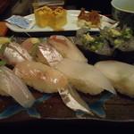 権五郎 - 地魚の握り寿司