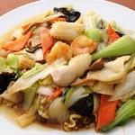 台湾料理 金盛軒 - 料理写真:食材の持ち味が存分に楽しめる『五目焼きそば』
