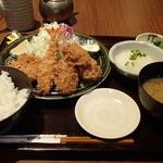 とんかつ和幸 - 料理写真:かき盛合せ御飯