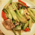 Koushouki - 野菜と豚肉の黒胡椒炒め