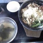 22620019 - 本日のオススメ定食(豚丼、1,000円)