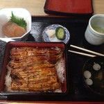 魚正 - 料理写真:鰻重  上
