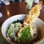 盛喜 - っそりたつ天ぷらそば800円