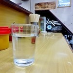 ラーメン専門店 和 - 呑んだ後の水は命を蘇らせます。。。