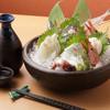 創作料理 どんぐり - 料理写真:お酒のつまみには新鮮な『刺身五点盛り』がおすすめです