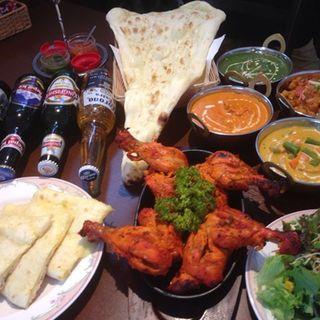 インド・ネパール料理の食べ飲み放題♪♪