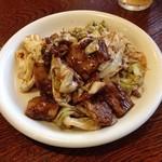 菜花 - 回鍋肉 ハーフ