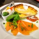 cafe Brasserie Remi - チーズフォンデュコース@前菜