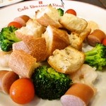 cafe Brasserie Remi - チーズフォンデュコース@具