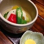 22628228 - 朝倉の野菜を使った冷菜