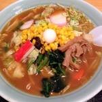 東楊亭 - 料理写真:東楊亭みそ味ラーメン 2013年11月