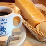 コメダ珈琲店 - ブレンドコーヒー(モーニングサービス付き)