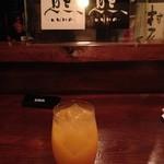ろばたBar 熊 - ノンアルコールマンゴーオレンジ