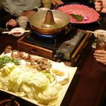 佐蔵 - ボリュームたっぷりの肉と野菜