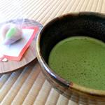 掬月亭 - 抹茶と和菓子