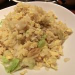 華家 - 蟹とレタスの炒飯