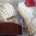 Mitsuhashi - この日お買い上げのケーキ達♪
