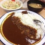 松屋 - オリジナルカレー野菜付き 金曜日だし!
