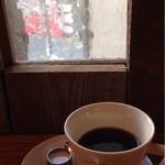 クルミドコーヒー - 最上階のカウンター席から