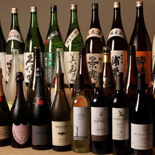 日本酒、ワイン