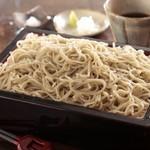蕎麦 木曽路 - 料理写真:石挽き自家製粉、本格手打ちそばをお楽しみください。