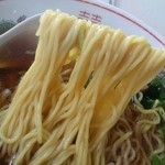 一福食堂 - 醤油ラーメン麺リフト