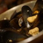 バール エ ターヴォラ カルダ ラ・ジョストラ - ムール貝の白ワイン蒸し