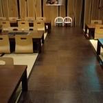 薩摩焼肉 黒桜 - お座敷42席(4人掛け×6,6人掛け×3)~♪(^o^)丿