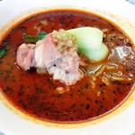 麺胡房 - 極牛しゃぶしゃぶ坦々麺黒