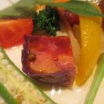 コウジイガラシ オゥレギューム - 赤いお野菜のテリーヌ