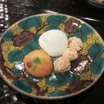 カナルカフェブティック - ギモーブ、日向夏のピール入りクッキー、和三盆あられ