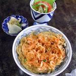 よし川 - 桜えびの黄金丼 味噌汁の画像は割愛