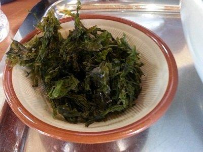 らー麺専科 海空土 - 岩のり(別皿)
