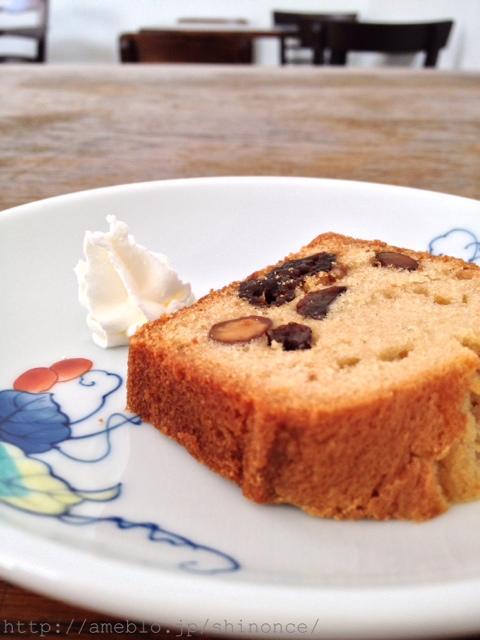 カフェ アリエ - パウンドケーキ