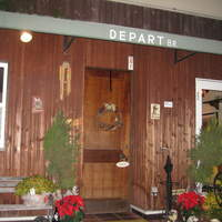 DEPART BR - 店内への入り口です。