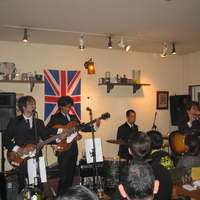 DEPART BR - 二カ月に一度演奏していただいている、ビートルズのコピーバンドのTHE SELTAEBさん。