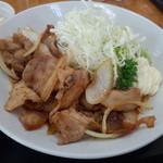 22651422 - 豚生姜焼き定食の豚生姜焼き