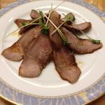 22651978 - 豚タンの醤油味冷菜(400円)2013年11月