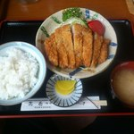 22654627 - 【2013年09月】トンカツ定食@1,000円。