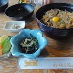 伊豆の佐太郎 - 紅葉丼定食1,300円