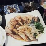 こめ蔵 - 生鯖炙り定食