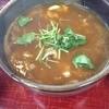 そば竹 - 料理写真:カレー南蛮はうどんでいただきます