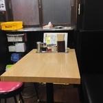 あさくら - テーブル席2