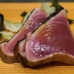 鮨処 多田 - カツオの刺し身