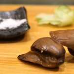 鮨処 多田 - 鱧の肝