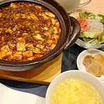 Yuukyushanhai - 土鍋麻婆丼セット