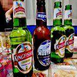 22659221 - インドビール(キング・フィッシャー)・ネパールビール(ムスタン)で地元オフ会始まり~♪