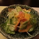 料理酒家 九良左衛門 - サラダ