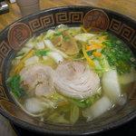 博多いち - にんにく野菜ラーメン(@750円)