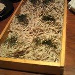 地酒とそば・京風おでん 三間堂 - 割子そば(2009.9)